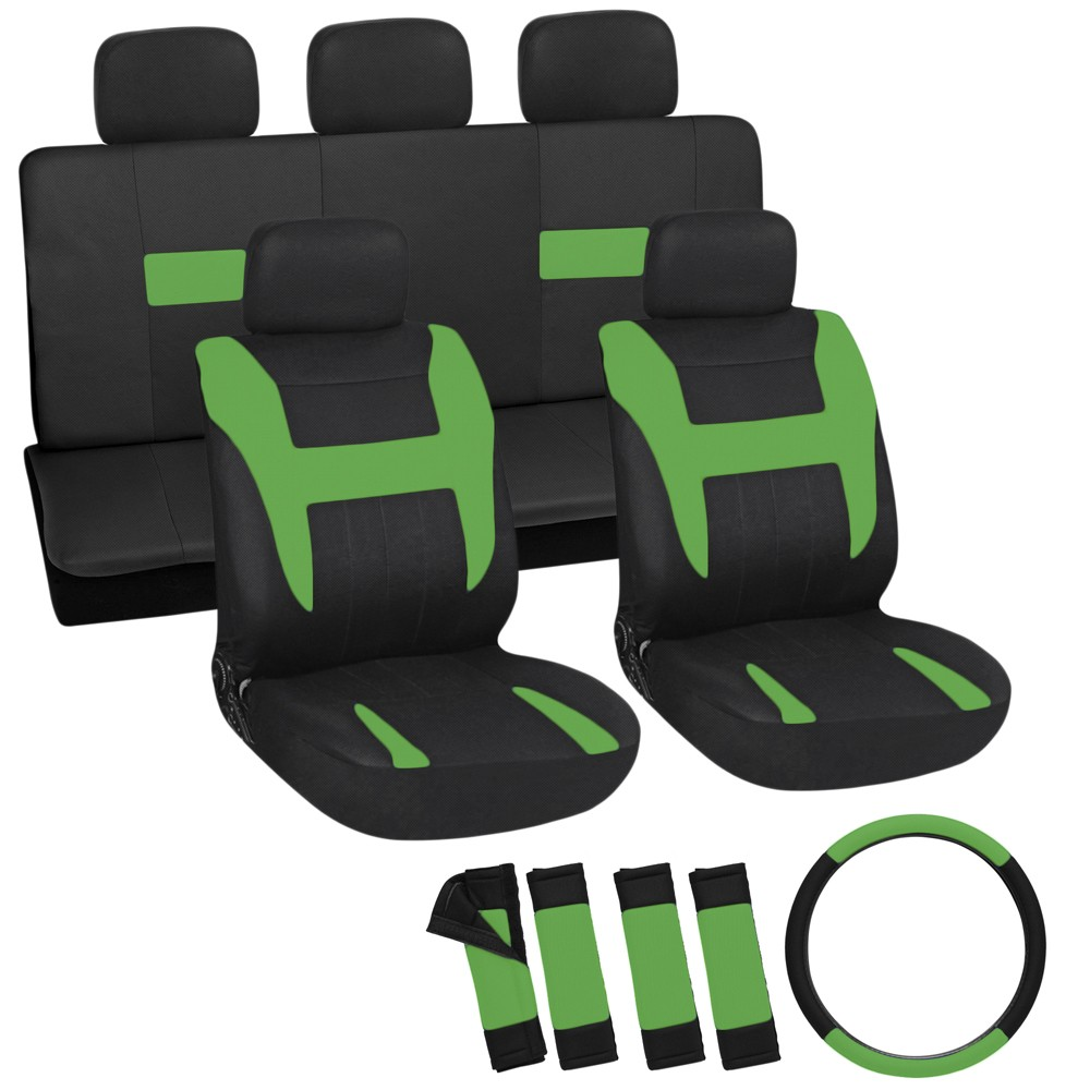 Two Toned Color Seat Covers