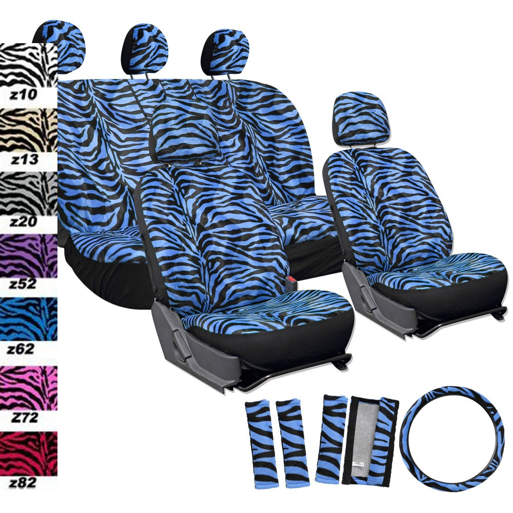 Car Seat Covers - Zebra Print