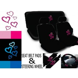 Seat Cover - Love Story (11pc)